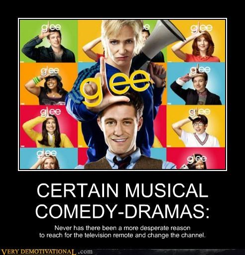 drama,glee,horrible,musical