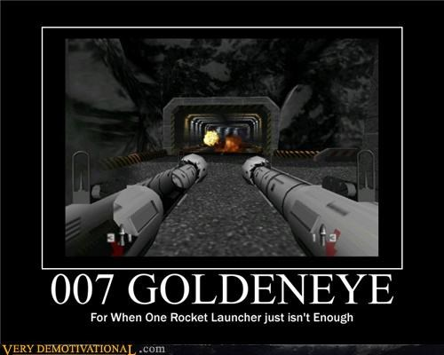 goldeneye launcher 007 rocket - 4711400448