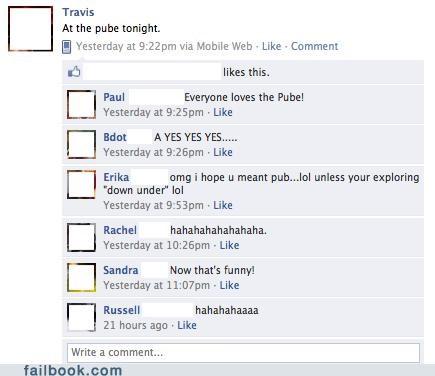 pube,pub,spelling