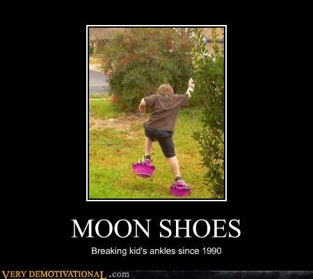 bones broken kids moon shoes