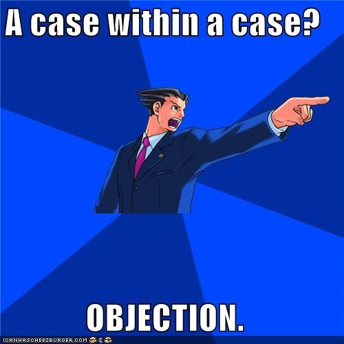 case,Inception,objection,phoenix wright,video games