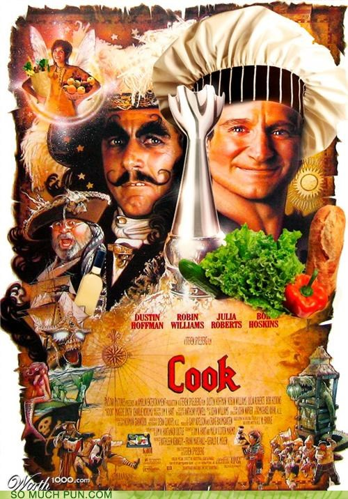 cook double meaning film hook Movie pan parody peter pan photoshop poster - 4712669952