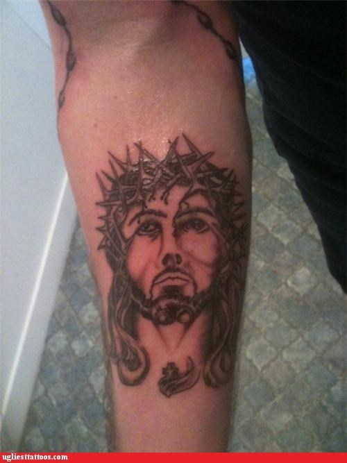 jesus,bad,noses,tattoos,funny