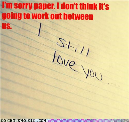emolulz,love,paper,Sad