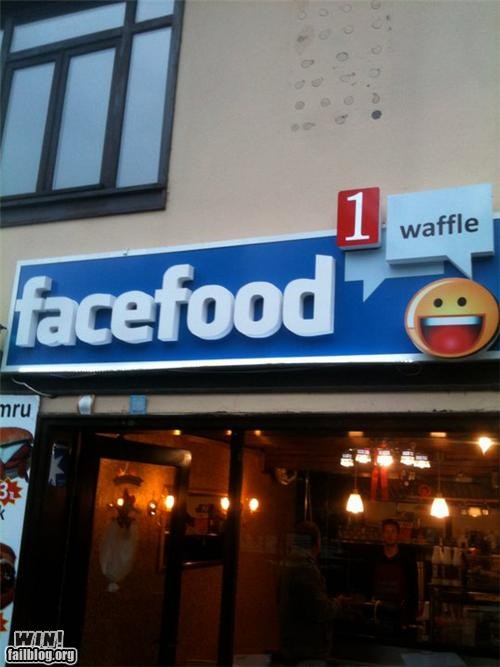 facebook,food,store name,storefront,waffle