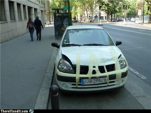car holding it down hood tape - 4713722112