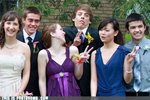 Awkward creep formal peace prom