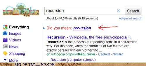 google,recursion,win