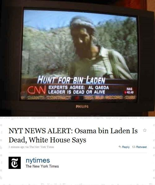 Breaking News,Osama Bin Laden