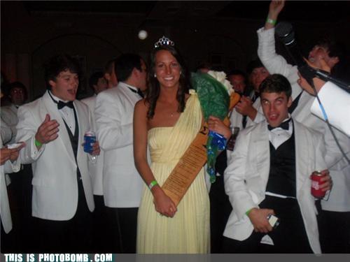 girl owned princess white tux yellow dress - 4715329024