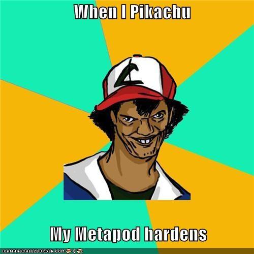 Dat Ash hardens metapod pikachu Pokémemes - 4715734272