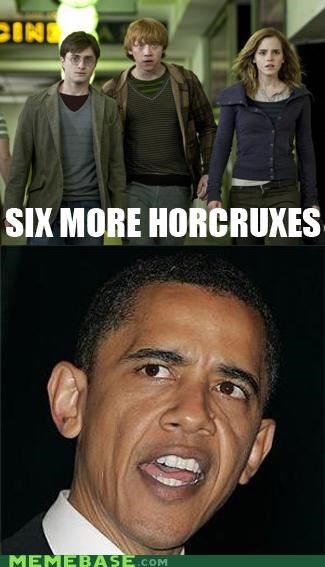 Harry Potter,horcruxes,Memes,obama,osama