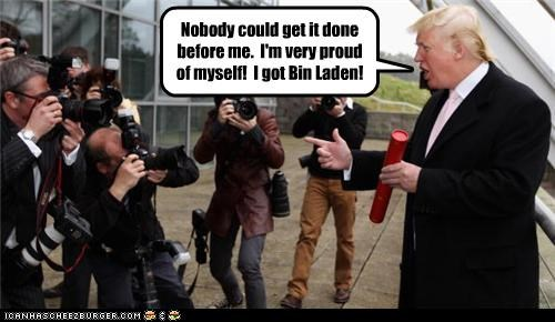 donald trump,Osama Bin Laden,political pictures