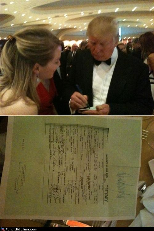 birth certificate donald trump political pictures - 4715937792