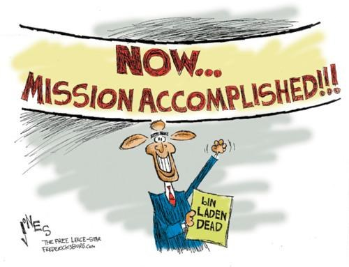 Clay Jones Osama Bin Laden political cartoon - 4716043008