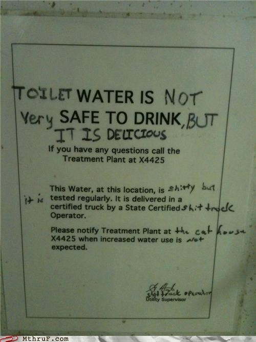 drink toilet water - 4716206336