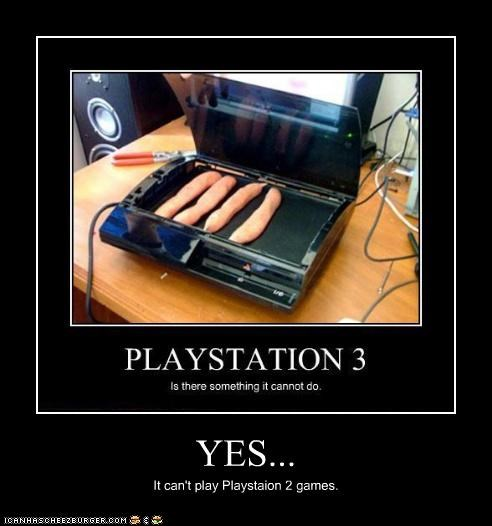 YES... It can't play Playstaion 2 games.