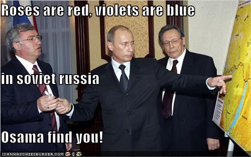 Osama Bin Laden political pictures Vladimir Putin vladurday - 4716983552