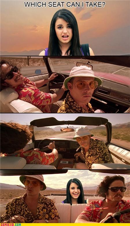 fear and loathing in las vegas Hunter S Thompson Rebecca Black - 4717087744