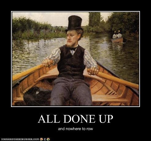 art demotivational funny gentleman painting - 4717273344
