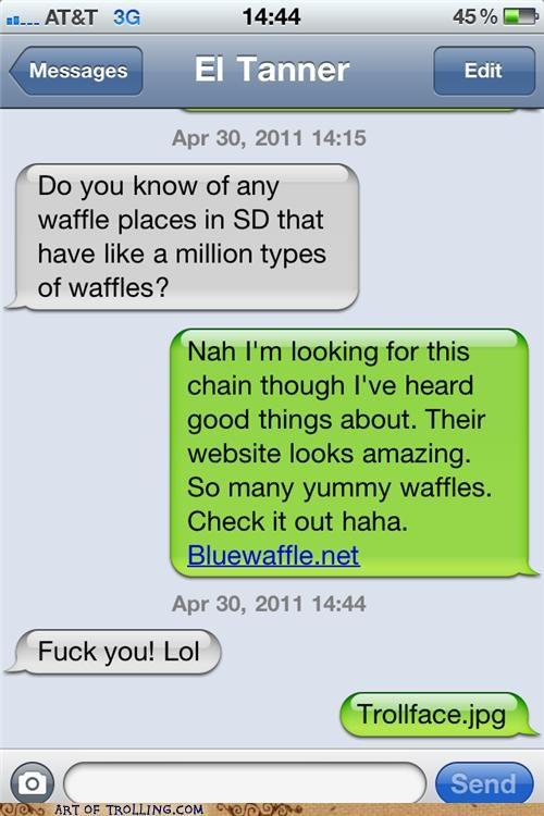 blue waffle shock site waffles - 4717579776