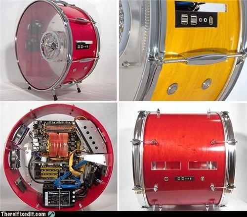 art computer case drums Music - 4717983744