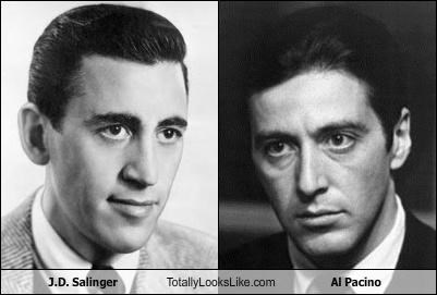 actors,al pacino,j-d-salinger,scarface,the catcher in the rye,writers