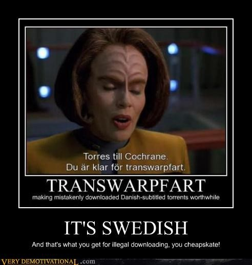 hilarious language Star Trek swedish - 4718167552
