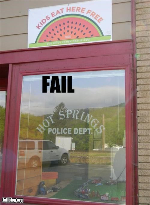 failboat food g rated juxtaposition kids police signs - 4718177536