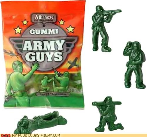 army guys,candy,gummy,toys