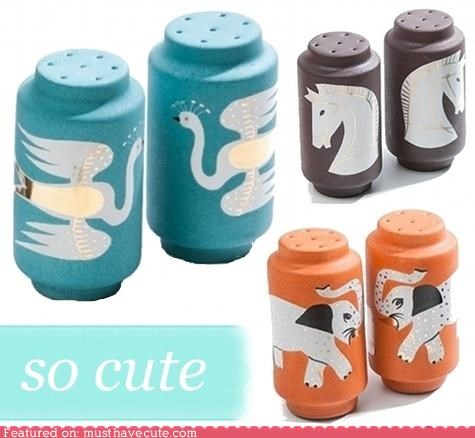 animals decor salt and pepper salt and pepper shakers