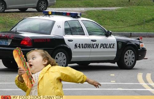 chubby bubbles girl little girl police run sandwich scared stolen - 4718332672
