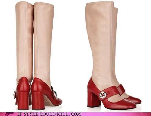 boots crazy shoes prada - 4718604544