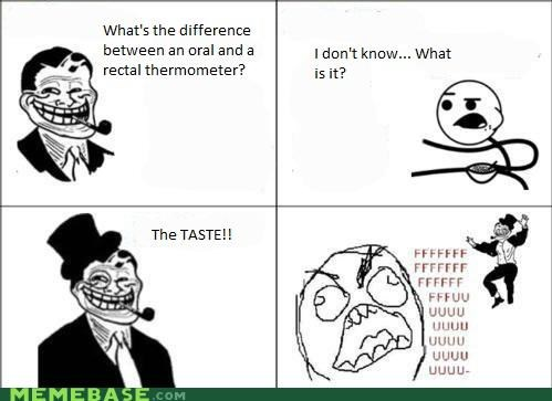 oral Rage Comics temperature thermometer