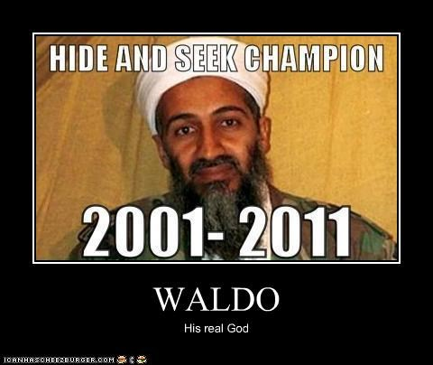 WALDO His real God