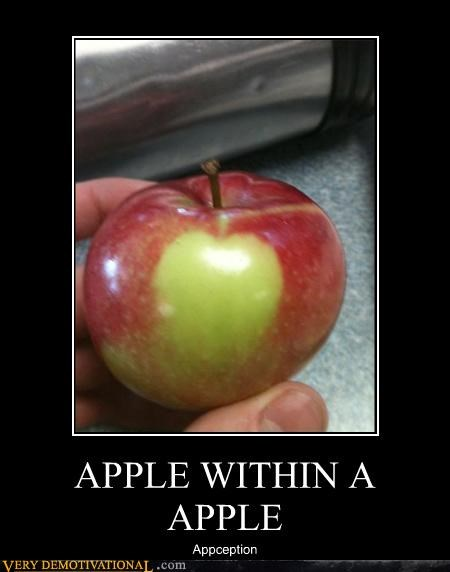 apple fruit hilarious Inception - 4719553280