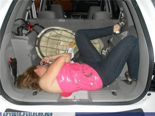 Drunk in the trunk