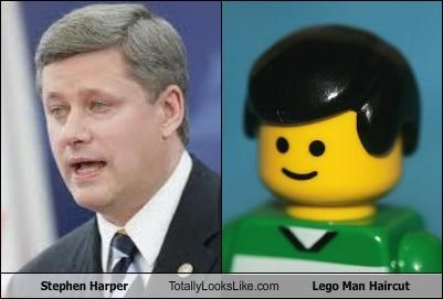 Canada haircut Hall of Fame lego Lego Man prime minister stephen harper