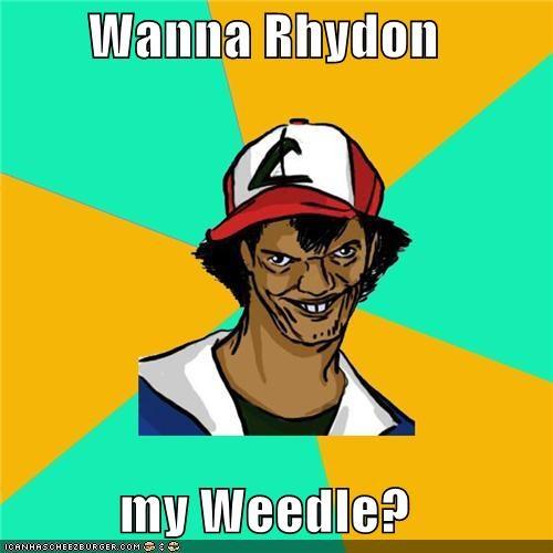 Dat Ash kid Pokémemes Pokémon puns weedle - 4719883520