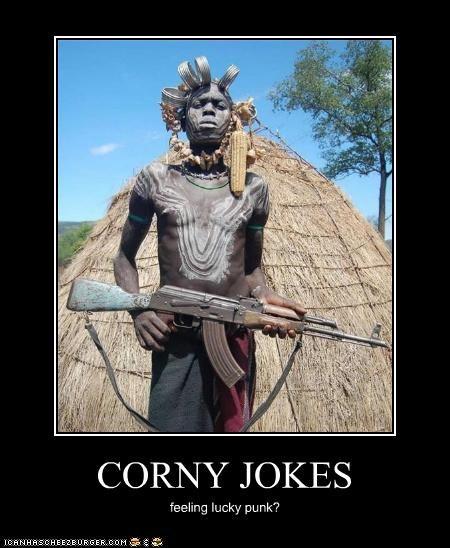 CORNY JOKES feeling lucky punk?