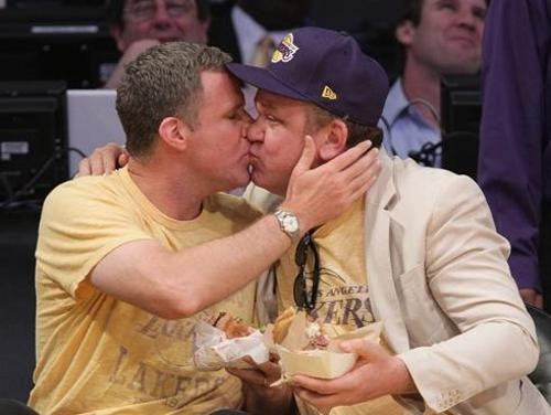 Celebrity Kiss Cam john c reilly tim-eric Will Ferrell - 4721419776