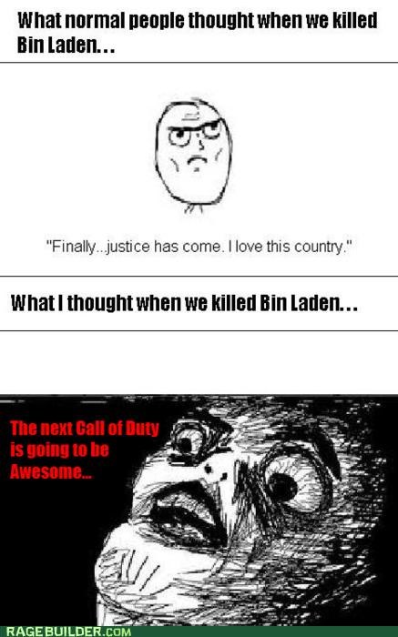 call of duty normal osama Rage Comics video games