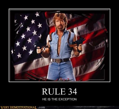 chuck norris,Pure Awesome,Rule 34