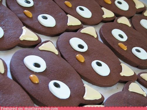 chococat chocolate cookies epicute icing - 4721761792