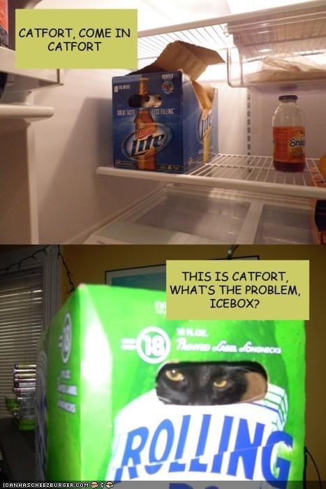 beer Catfort forts fridge multipanel - 4721788416