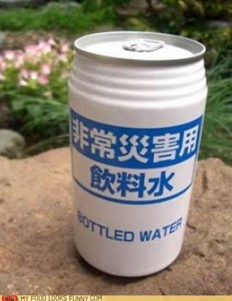 bottle bottled water can label mislebeled water