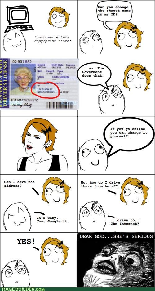 internet license Rage Comics srs