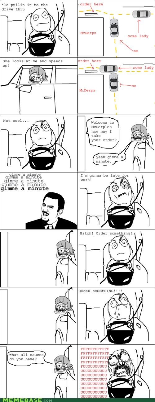 a minute driving mderpy order rage Rage Comics sauce - 4722350336