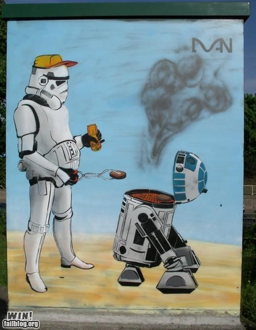 Star Wars Graffitti WIN