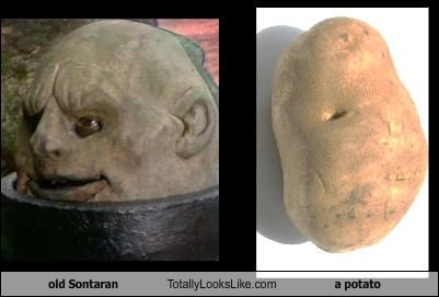 doctor who,food,potato,sontaran